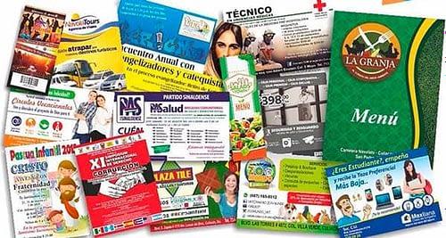 Conoce los diferentes tipos de folletos publicitarios